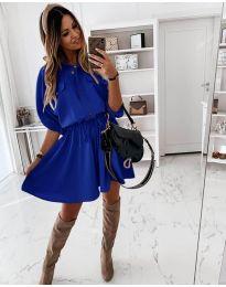 Φόρεμα - κώδ. 8586 - μπλε
