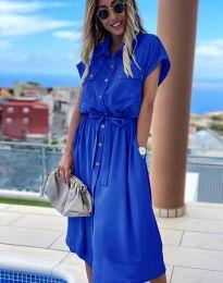 Φόρεμα - κώδ. 6344 - μπλε