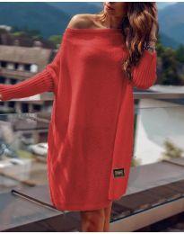 Φόρεμα - κώδ. 1040 - κόκκινο