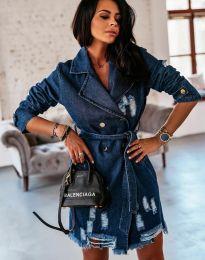 Φόρεμα - κώδ. 2888 - 2 - σκούρο μπλε