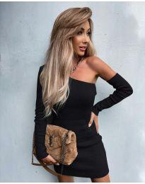 Φόρεμα - κώδ. 4933 - μαύρο