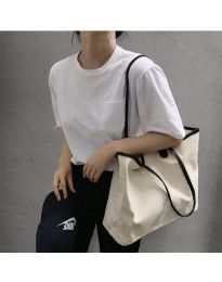 Τσάντα - κώδ. B489 - λευκό