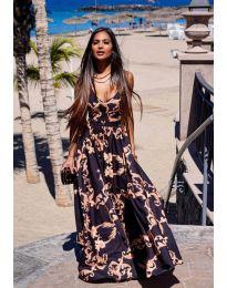 Φόρεμα - κώδ. 6610 - πολύχρωμο