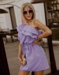 Φόρεμα - κώδ. 7100 - μωβ