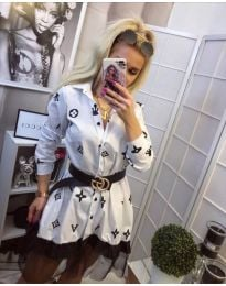 Φόρεμα - κώδ. 870 - λευκό