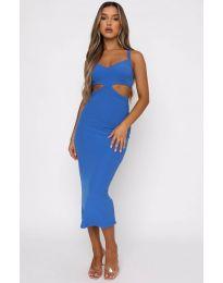 Φόρεμα - κώδ. 111938 - μπλε