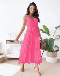 Φόρεμα - κώδ. 4672 - φουξια