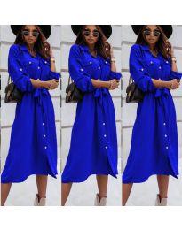 Φόρεμα - κώδ. 1510 - μπλε
