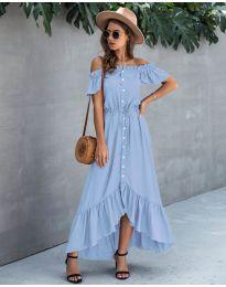 Φόρεμα - κώδ. 564 - γαλάζιο