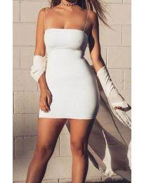 Φόρεμα - κώδ. 3687 - λευκό