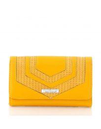 Τσάντα - κώδ. AC-1027 - κίτρινο