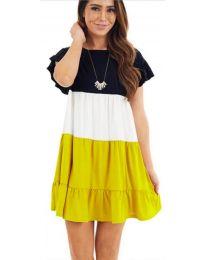Φόρεμα - κώδ. 741 - κίτρινο