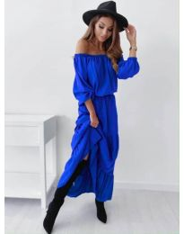 Φόρεμα - κώδ. 1317 - μπλε