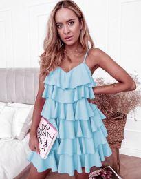 Φόρεμα - κώδ. 8190 - γαλάζιο