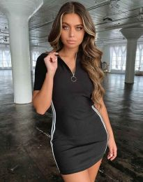 Φόρεμα - κώδ. 2912 - 1 - μαύρο