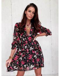 Φόρεμα - κώδ. 3161 - 1 - πολύχρωμο