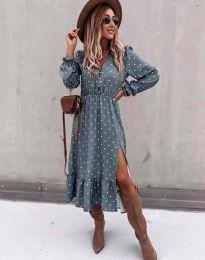 Φόρεμα - κώδ. 2834 - μπλε