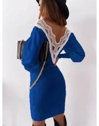 Φόρεμα - κώδ. 1718 - σκούρο μπλε