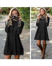 Φόρεμα - κώδ. 1690 - μαύρο
