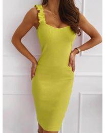 Φόρεμα - κώδ. 029 - νέον κίτρινο