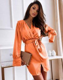 Φόρεμα - κώδ. 2741 - πορτοκάλι