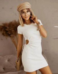 Φόρεμα - κώδ. 8556 - λευκό
