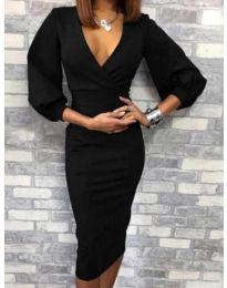 Φόρεμα - κώδ. 4526 - 1 - μαύρο