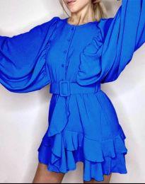 Φόρεμα - κώδ. 6299 - μπλε
