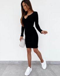 Φόρεμα - κώδ. 11664 - μαύρο