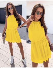 Φόρεμα - κώδ. 513 - κίτρινο