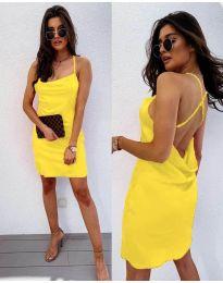 Φόρεμα - κώδ. 672 - κίτρινο