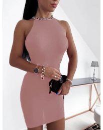 Φόρεμα - κώδ. 9690 - πούδρα