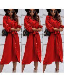 Φόρεμα - κώδ. 1510 - κόκκινο