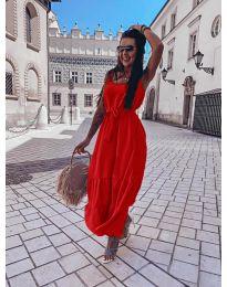 Φόρεμα - κώδ. 1230 - κόκκινο
