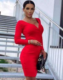 Φόρεμα - κώδ. 12065 - κόκκινο