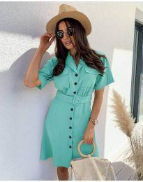 Φόρεμα - κώδ. 742 - τυρκουάζ