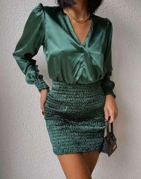 Φόρεμα - κώδ. 0395 - 1 - πράσινος
