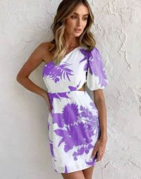 Φόρεμα - κώδ. 4650 - πολύχρωμο