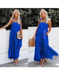 Φόρεμα - κώδ. 551 - μπλε