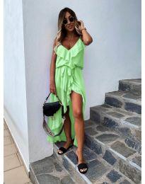 Φόρεμα - κώδ. 0081 - πράσινο νέον