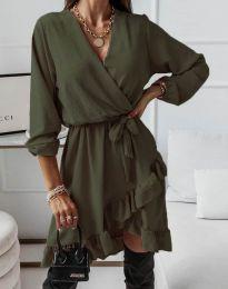 Φόρεμα - κώδ. 5371 - λαδί