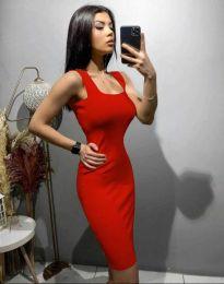Φόρεμα - κώδ. 10300 - κόκκινο