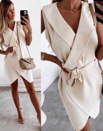 Φόρεμα - κώδ. 7793 - μπεζ