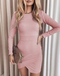 Φόρεμα - κώδ. 2835 - ροζ