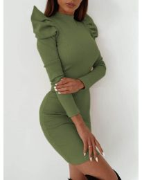 Φόρεμα - κώδ. 9303 - πράσινο