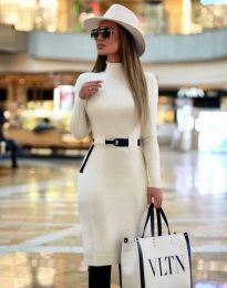 Φόρεμα - κώδ. 2932 - λευκό