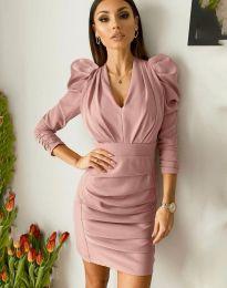 Φόρεμα - κώδ. 7937 - πούδρα