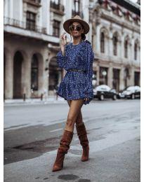 Φόρεμα - κώδ. 0701 - μπλε