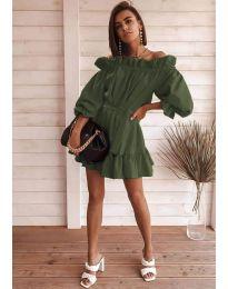 Φόρεμα - κώδ. 3386 - χακί