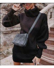Φόρεμα - κώδ. 2884 - μαύρο
